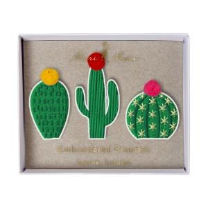 meri meri cactus broche