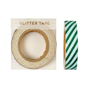meri meri groen glitter tape