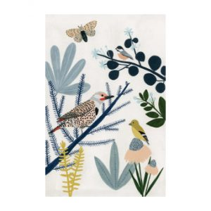 pugsley vogels en vlinder kaart