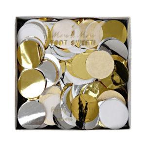 confetti goud en zilver
