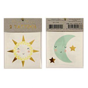 zon en maan tattoos