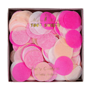 confetti roze meri meri
