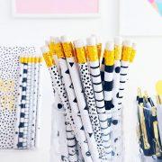 pretty prints pencils