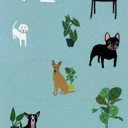 hond briefpapier 4