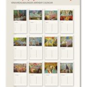 Juane Xue kalender overzicht
